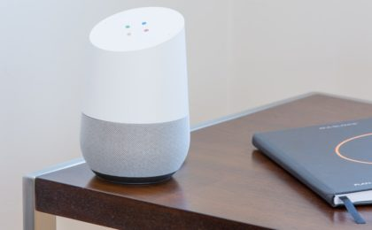 Voice_search met Google Home